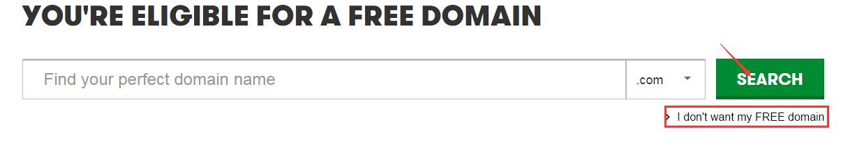 GoDaddy免费域名注册